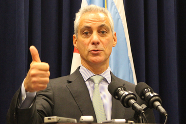 Mayor Rahm Emanuel saluted aldermen who he said voted for the public interest over political self-interest.
