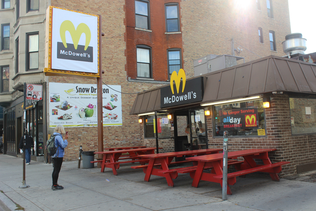 For Halloween this year, Wiener's Circle, 2622 N. Clark St., dressed up as