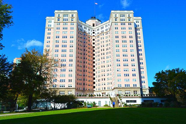 Image result for northside chicago pink building