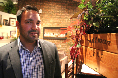 Ian Lantz, owner of Pullman Cafe, says the neighborhood's new coffee shop passed its final inspection and will be open in time for the annual house tour on Oct. 10 and 11.