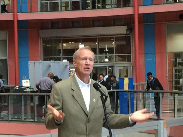 Gov. Rauner announced plans to raze the Thompson Center Tuesday.