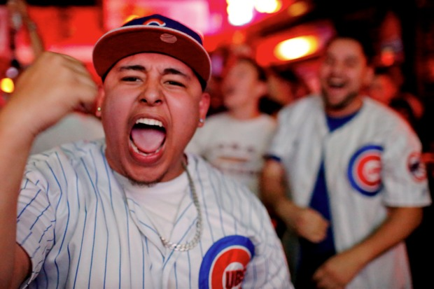 The Cubs are moving on! And Wrigleyville celebrated — responsibly, for the most part.