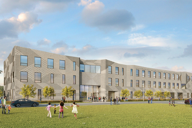 The University of Chicago's new charter school building opening in the fall will be 29,000 square feet and will finally provide a gym and track and field on campus.
