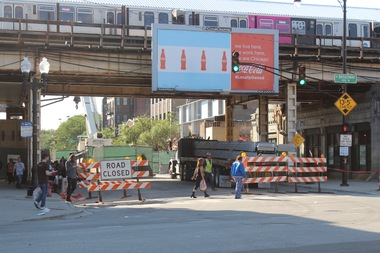 The street will be fully closed overnight from Leland Avenue to Wilson Avenue, the CTA said.