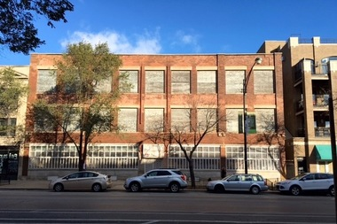 A vintage building in Wicker Park at 1714-22 W. Division St.