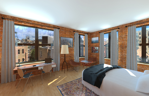 Bed and breakfast planned in west loop 39 s old holography for Classic house loop