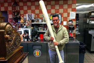 Gabe Solis, owner of Tacos Erendira.