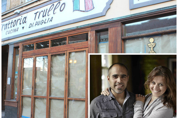 Husband-and-wife owners Maria Alferov and Sebastian Casanova are aiming for an early 2016 opening of Artango Bistro in the former Trattoria Trullo storefront.