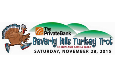 The Beverly Hills Turkey Trot will return to North Beverly on Nov. 28. The seventh annual 5k run and family walk is sponsored by the PrivateBank.