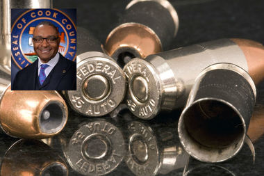 Cook County Commissioner Rickard Boykin proposed a penny-per-bullet tax on ammunition.