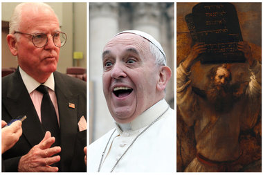 Ald. Burke says his joke works — as long as you follow the Vatican's order of Ten Commandments.
