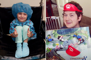 This 6-Year-Old Cancer Patient Dreams of Playing With
