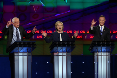 Here's a guide to where the Democratic presidential debate in Chicago.