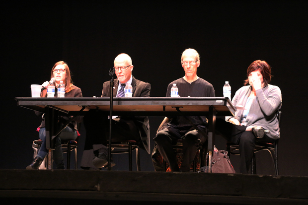 Rep. Ann Harris, former CPS CEO Paul Vallas, professor Eric Gutstein and Raise Your Hand co-founder Wendy Katten discussed if Chicago should have an elected, hybrid of mayoral-appointed Board of Education at a forum on Wednesday night.