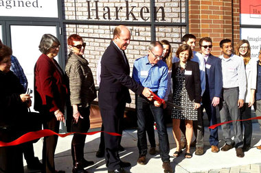 Harken Health, 5244 North Broadway, was welcomed to the neighborhood