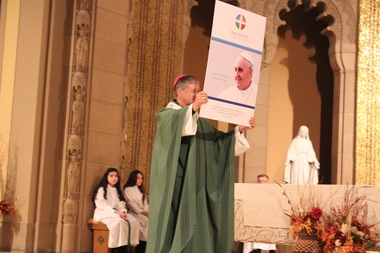 The newly created regional academy that will merge the schools of four Far Northwest Side Catholic churches will be named for Pope Francis, Archbishop Blase Cupich said Saturday.