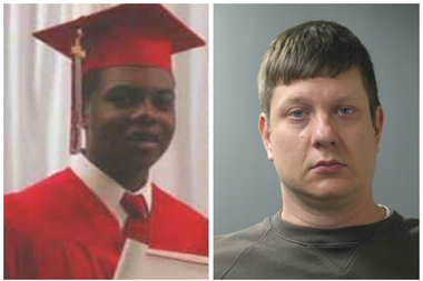 Laquan McDonald and Jason Van Dyke