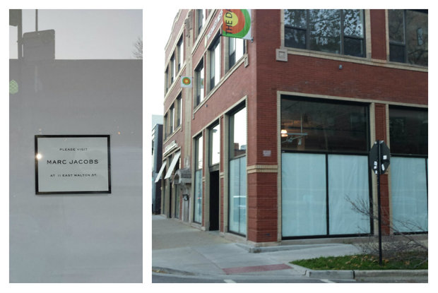 Marc Jacobs has closed its Bucktown/Wicker Park shop at 1714 N. Damen Ave.