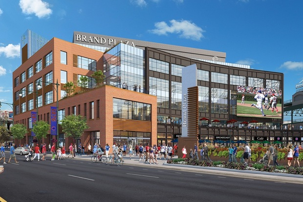 The Wrigley Field Office Building Will Be Home To A Starbucks Reserve Slated Open In Mid 2017 Provided Chicago Cubs Rendering By Voa Ociates