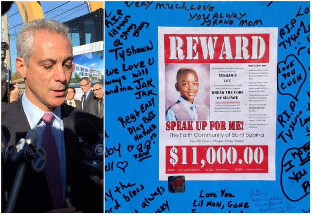 Mayor Rahm Emanuel said witnesses have a
