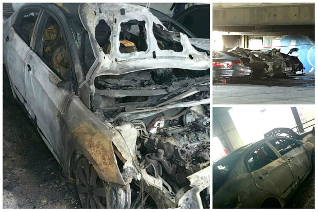Daisy Morales' car was destroyed in a Nov. 13 fire at a Rogers Park private parking garage.