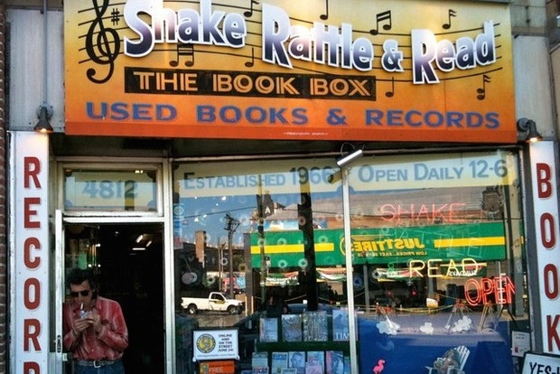 Shake Rattle and Read, which sits next to the Uptown Theater, will close in 2016.