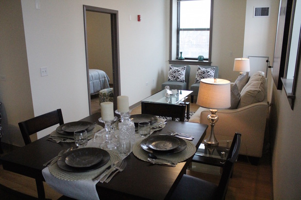 The Studio And One Bedroom Apartments In The Strand Hotel Rent For Between  $475 And $660 A Month. [DNAinfo/Sam Cholke]