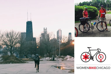 Women Bike Chicago's leaders want to see more female cyclists on city and suburban streets.