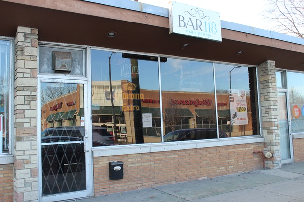 Bar 118 opened in Morgan Park in April 2015. Neighbors have voiced concerns to Ald. Matt O'Shea ever since, he said.