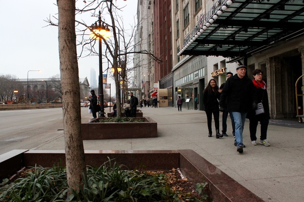 Michigan Avenue Planters Going Green Parks Group Says