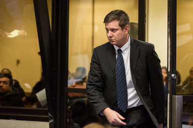 Jason Van Dyke, 38, is charged with official misconduct and first-degree murder in the 2014 fatal shooting of Laquan McDonald.