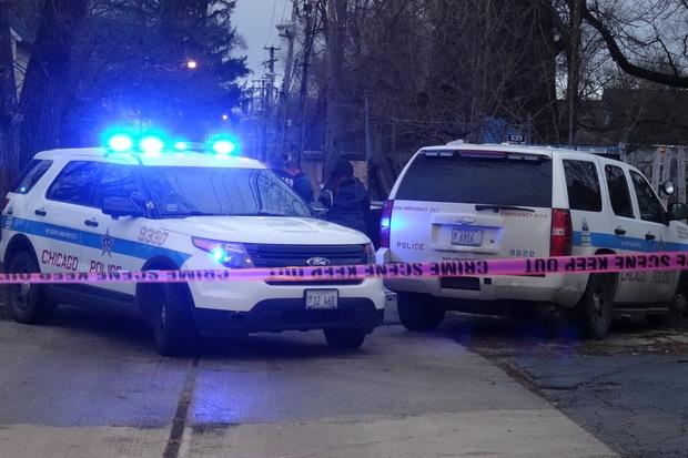 Crime scene plugger homicide crime tape chicago police