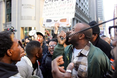 Black Lives Matter and other groups plan to protest violence in Charlottesville Tuesday afternoon in the Loop.