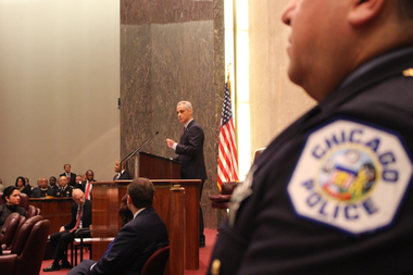 Mayor Rahm Emanuel called for nothing less than complete and total reform of the law-enforcement system.