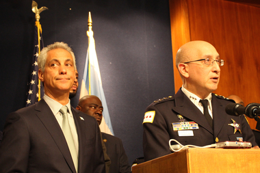 Mayor Rahm Emanuel named John Escalante interim police superintendent in December.