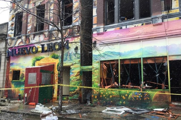 After a fire decimated the restaurant, leaving 50 employees out of work, Pilsen residents band together to help.