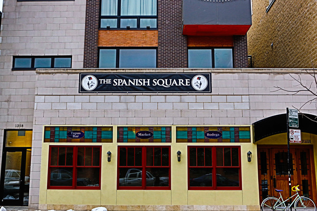 It took longer than expected, but The Spanish Square is opening its doors for a New Year's event after completing nine months of extension renovations.
