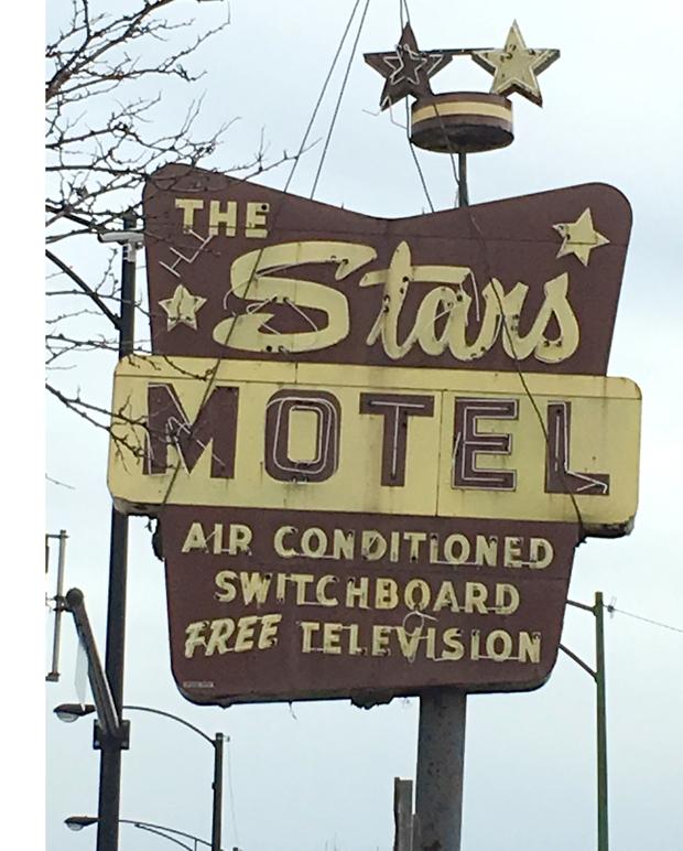 Stars Motel's Retro Sign On Lincoln Avenue Torn Down