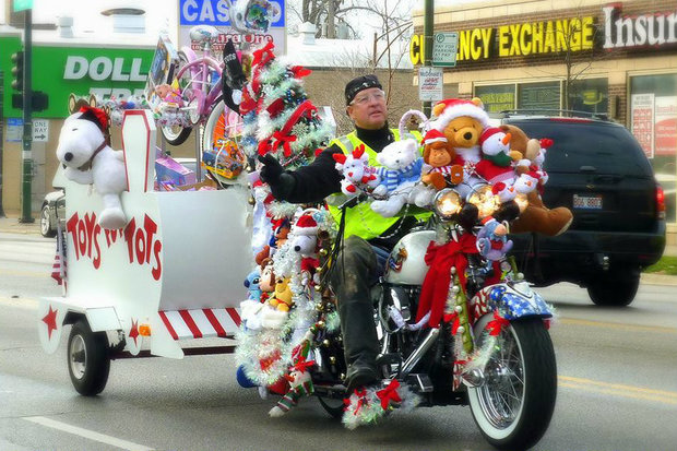 Toys For Tots Chicago : Toys for tots motorcycle parade hitting western sunday