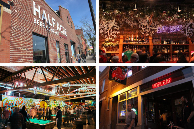 What Chicago Street is Home to the Most Bars? Lincoln Avenue, Halsted Street, Milwaukee Avenue or Clark Street?
