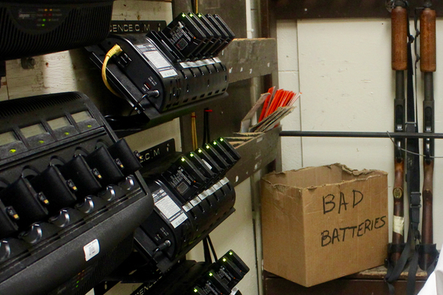 How Many Batteries In Squad Car