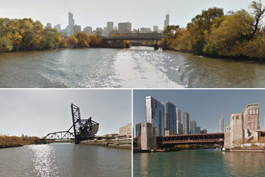 Portions of the Chicago River are now on Google Street View