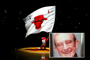 Dean Wessel (inset) is the man who created the Bulls' iconic logo.