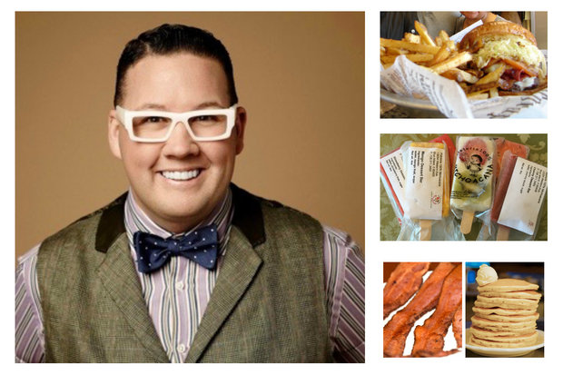 Celebrity chef Graham Elliot shared some of his favorite places to eat near his Morgan Park home. The four restaurants and one sweet shop selected aren't five-star establishments. Rather, Elliot provided a glimpse into some lesser-known places that his South Side family has come to appreciate.