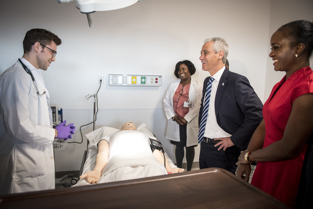 With New Campus, Malcolm X College Bets Big On Health Care Careers ...