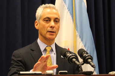 Mayor Rahm Emanuel admits,