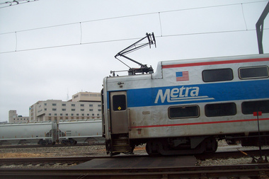 Metra Rolls Out Security Cameras On Trains As Crime 'Deterrent'
