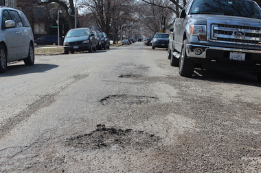 36th Ward voters will decide what percentage of the budget should be used to resurface streets, and as many projects as possible will be funded with the remaining funds, up to $1 million.