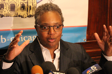 Mayor Emanuel chose Chicago Police Board President Lori Lightfoot to chair the Police Accountability Task Force.