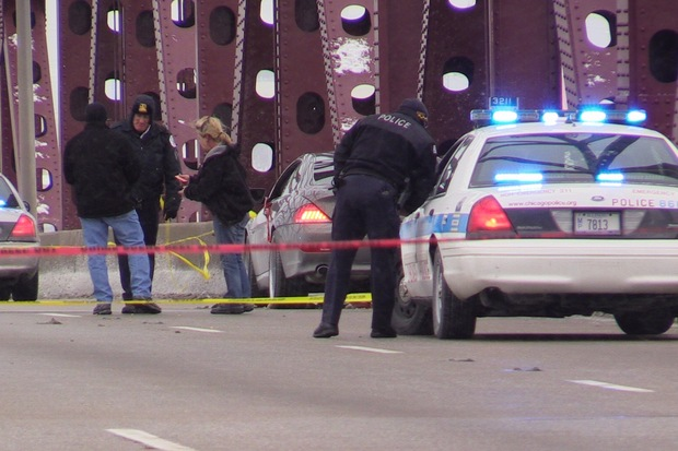 A man was killed and a woman wounded in a shooting on the Skyway Jan. 13.